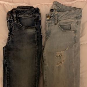 American Eagle jeans size 4 regular. Lot 2